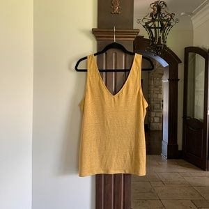 Linen Camisole Size Large...New With Tag